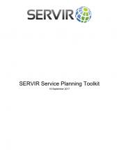SERVIR Service Planning Toolkit