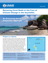 Saving Coral Reefs in the Face of Climate Change in Seychelles