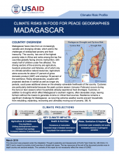 Climate Risks in Food for Peace Geographies: Madagascar