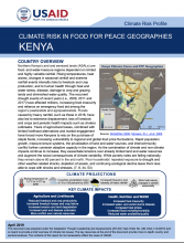 2019 USAID Kenya CRP Food for Peace Geographies Factsheet