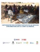 Cartographie des systèmes de service participatifs Informations climatiques au Sénégal