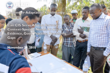 Adaptation Community Meeting: Can climate services serve African farmers' needs, at scale? Evidence, good practice, and remaining gaps