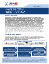 Climate Risk Profile: West Africa