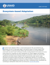 2019 USAID EbA Synthesis Cover
