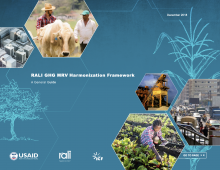 RALI GHG MRV Harmonization Photo cover