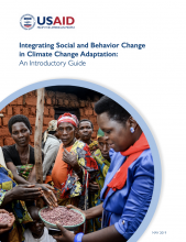 Cover Photo Integrating Social and Behavior Change in Climate Change Adaptation: An Introductory Guide