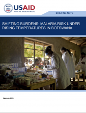 Briefing Note: Shifting Burdens: Malaria Risk under Rising Temperatures in Botswana photo