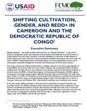 Shifting Cultivation, Gender and REDD+ in Cameroon and the Democratic Republic of Congo - Brief