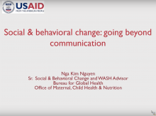 Social Behavior Change ACM screenshot