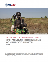 South Sudan Climate Variability Profile