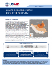 Climate Change Risk Profile: South Sudan