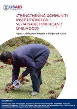 Strengthening Community Institutions for Sustainable Forests and Livelihoods: Action-Learning Pilot Program in Rampur Landscape