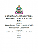 Sub-National Jurisdictional REDD+ Program for Sikkim, India