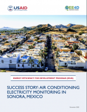 Success Story: Air Conditioning Electricity Monitoring in Sonora, Mexico