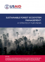 Sustainable Forest Ecosystem Management: A Strategy for India