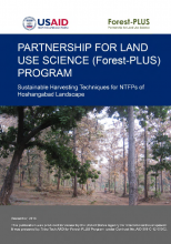 Sustainable Harvesting Techniques for Non-Timber Forest Products of Hoshangabad Landscape