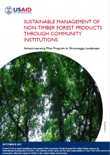 Sustainable Management of Non-Timber Forest Products Through Community Institutions: Action-Learning Pilot Program in Shivamogga Landscape