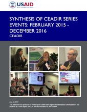 Synthesis of CEADIR Series Events