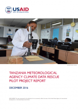 Tanzania Meteorological Agency Climate Data Rescue Pilot Project Report