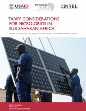 Tariff Considerations for Micro-Grids in Sub-Saharan Africa Photo