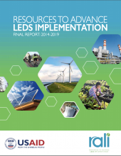Image of the Resources to Advance LEDS Implementation Final Report: 2014-2019
