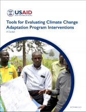 Image Tools for Evaluating Climate Change Adaptation Program Interventions: A Toolkit