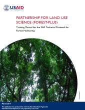 Training Manual for the Synthetic Aperture Radar (SAR) Technical Protocol for Forest Monitoring