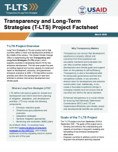 Transparency and Long-Term Strategies (T-LTS) Project