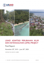 USAID APIK report cover