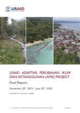 USAID APIK report cover