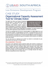 Case Study Organizational Capacity Assessment Photo