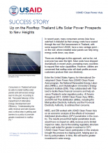 Success Story: Distributed Photovoltaics in Thailand