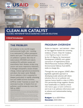USAID Clean Air Catalyst photo