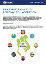 Promoting Enhanced Regional Collaboration Factsheet