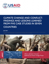 USAID Climate & Conflict photo