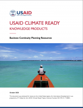USAID Climate Ready Knowledge Products: Business Continuity Planning Resources