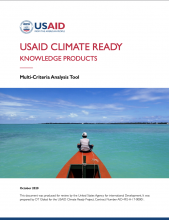 USAID Climate Ready Knowledge Products: Multi-Criteria Analysis Tool