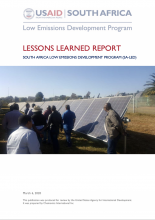 USAID SA LED Lessons Learned Photo