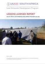 USAID SA LED Lessons Learned Photo