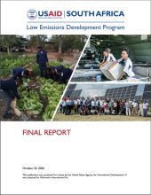 USAID South Africa Low Emissions Development Program Final Report photo