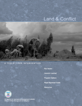 USAID Land and Conflict