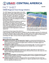 USAID Regional Clean Energy Initiative
