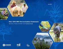 RALI GHG MRV Harmonization Framework: Agriculture, Forestry, and Other Land Use Sector Guide