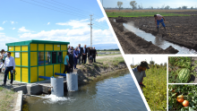 Collage of water resource-related images in Armenia