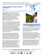 Vietnam: Preserving Forests, Engaging Communities