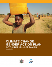 Climate Change Gender Action Plan Zambia