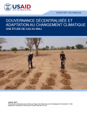 Decentralized Governance and Climate Change Adaptation: A Case Study on Mali (French version)