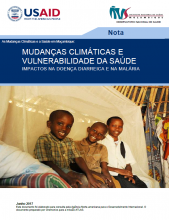 Climate change and health briefing Mozambique - Portuguese