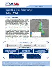 Climate Change Risk Profile: Malawi