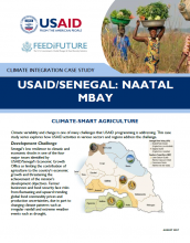 Climate Integration Case Study: USAID/Senegal's Naatal Mbay